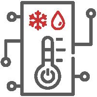 sensor térmico y de humedad