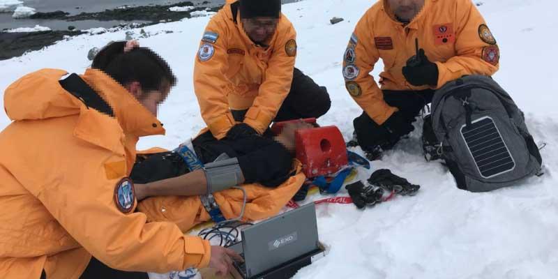 El CDM ya funciona en las Bases Orcadas, Esperanza y Marambio, en la Antártida Argentina.